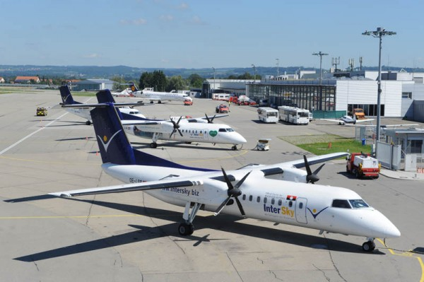 Home-Carrier InterSky am Bodensee Airport Friedrichshafen (© FDH)