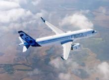 Airbus A320neo im Flug (© Airbus)