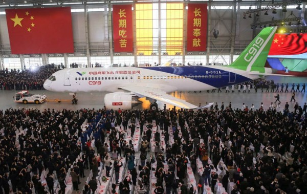Roll-out des COMAC C919