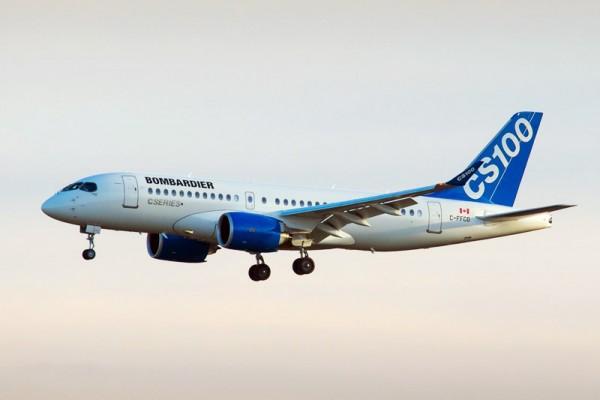 Bombardier CS100 (© P.Cardinal/Bombardier)
