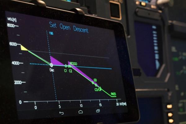 Pilotenassistenzsystem (© DLR)