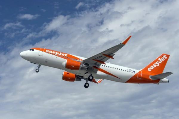 Airbus A320-200 der easyJet (© Airbus)