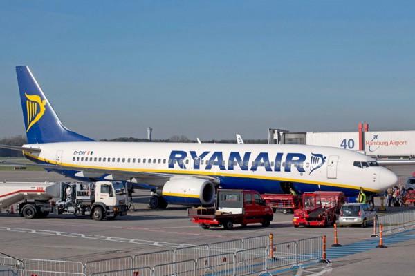 Ryanair am Flughafen Hamburg (© HAM Airport)