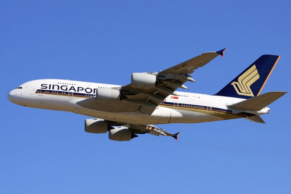 Singapore Airlines Airbus A380 (CC-SA 2.0 K. Iemoto)