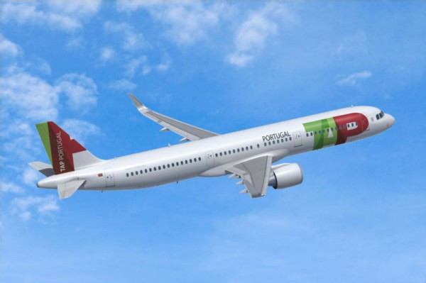 Airbus A321neo in den Farben der TAP Portugal (© Airbus)