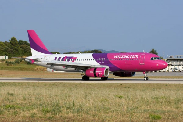 Airbus A320-200 der Wizz Air (© O. Pritzkow)