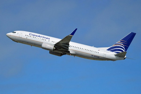 Copa Airlines Boeing 737-800 (CC BY-SA 2.0 A. Wilson)