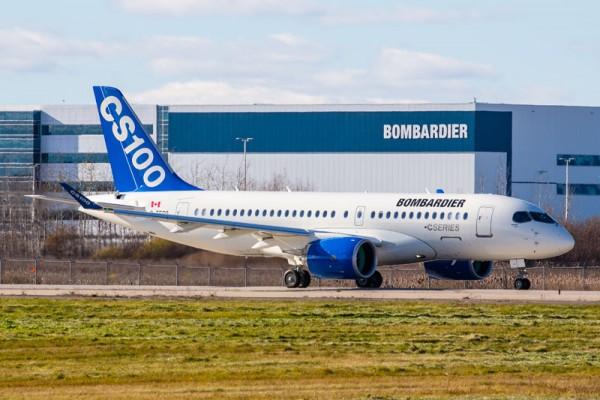 Bombardier CS100 (© Bombardier, P. Cardinal)