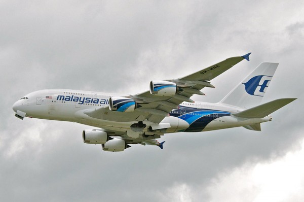 Malaysia Airlines Airbus A380 (CC BY-SA 2.0 Aero Icarus)