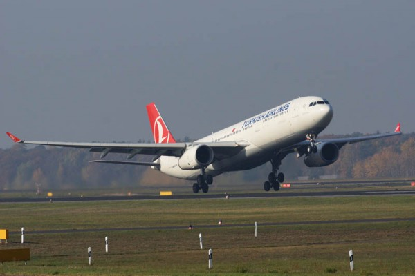 Turkish Airlines Airbus A330-300 (© O. Pritzkow)