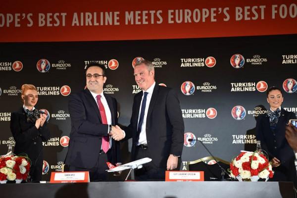 Turkish Airlines wird Sponsor der UEFA EURO 2016 (© THY)