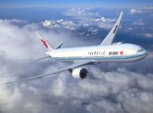 Boeing 777-300ER in den Farben der Air China (© Boeing)