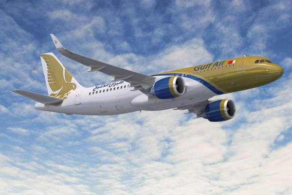 Airbus A320neo in den Farben der Gulf Air (© Airbus)