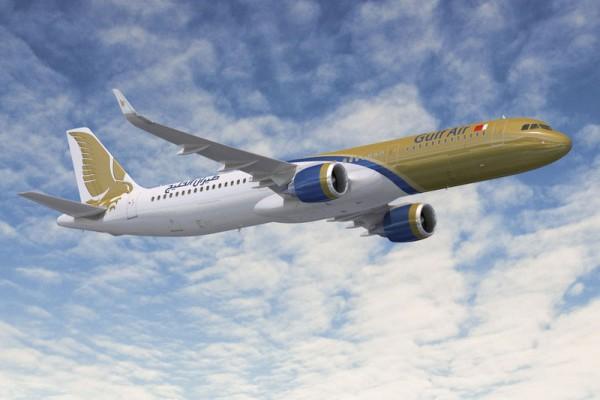 Airbus A321neo in den Farben der Gulf Air (© Airbus)