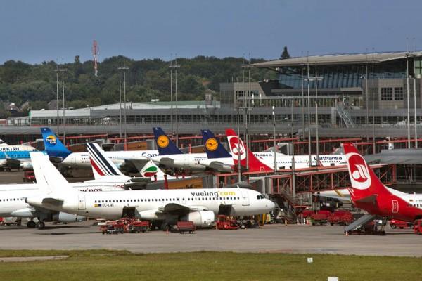 Vorfeld am Flughafen Hamburg (© HAM Airport)