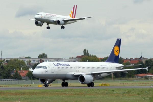 Flugzeuge von Lufthansa und germanwings (© O. Pritzkow)