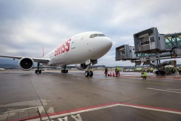 Swiss Boeing 777-300ER (© Swiss)