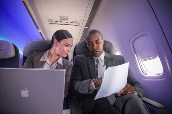 Highspedd-Internet an Bord (© Delta Air Lines)