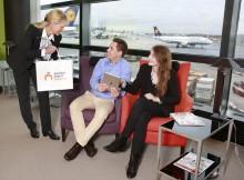 Lounge Shopping am Flughafen Frankfurt (© Fraport)