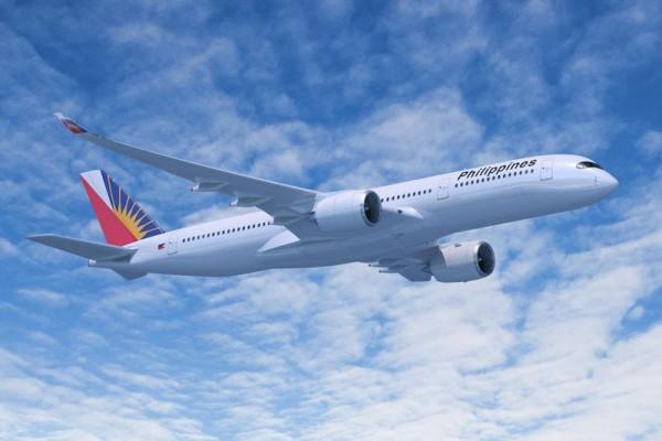 Airbus A350-900 in den Farben der Philippine Airlines (© Airbus)