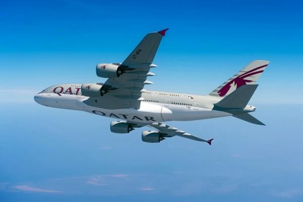 Qatar Airways Airbus A380 (© Qatar Airways)