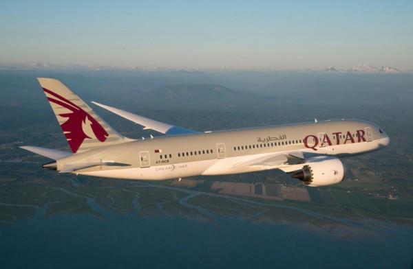 Qatar Airways Boeing 787 (© Qatar Airways)