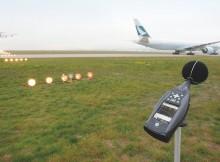 Fluglärmmessung (© Fraport)
