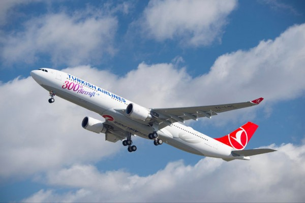 Turkish Airlines Airbus A330-300 (© Airbus)
