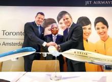 Neue Codeshare-Abkommen zwischen Delta, KLM und Jet Airways (© Delta)