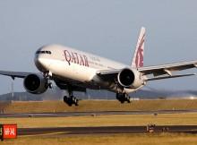 Qatar Airways Boeing 777-300ER (© Qatar Airways)