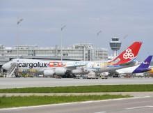 Cargolux Jubiläumsflugzeug Boeing 747-8F in München (© A.T. Friedel, FMG)