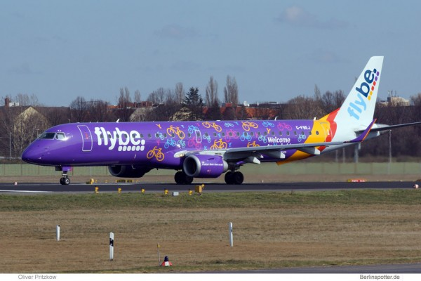 Flybe Embraer 195 (© O. Pritzkow)