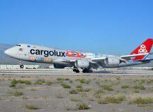Landung einer Boeing 747-8F in Aschgabat