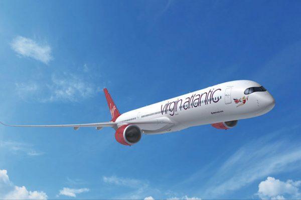 Airbus A350-1000 in den Farben der Virgin Atlantic (© Airbus)