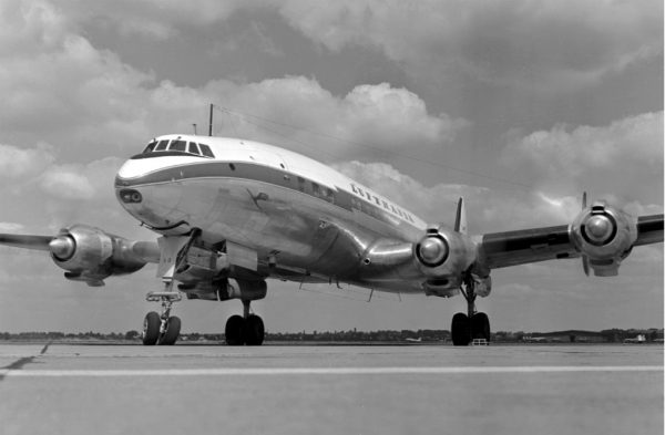 "Lockheed L 1049 G ""Super Constellation""  (Foto: Lufthansa)"