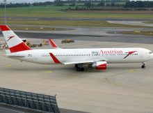 Boeing 767-300ER Austrian Airlines (© O. Pritzkow)