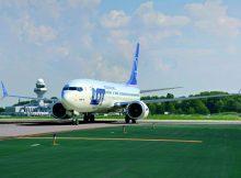 Boeing 737 MAX 8 in den Farben der LOT