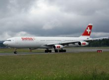 Swiss Airbus A340 (© O. Pritzkow)