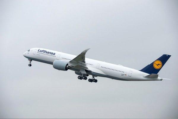 Airbus A350-900 XWB der Lufthansa (© Airbus)