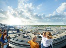 Aussichtsplattform auf dem Terminal 3 (© Flughafen Wien)