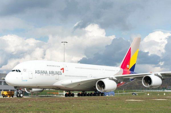 Airbus A380 der Asiana (© Airbus)