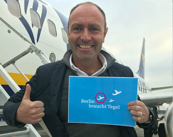 Kenny Jacobs, Chief Marketing Officer bei Ryanair