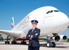 Angelika Barufke, Emirates A380 Fleet First Officer (© Emirates)