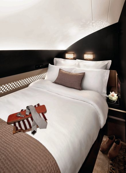 Etihad Airways A380 - The Residence Schlafzimmer
