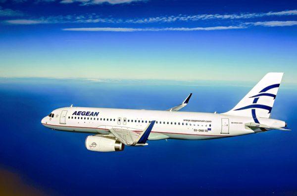 Aegean Airlines Airbus A320-200(SL) (© Aegean)