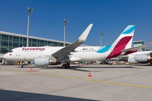 Eurowings Airbus A320-200 (© FMG)