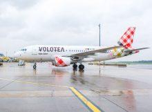 Airbus A319 der Volotea (© VIE Airport)
