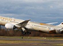 Etihad Airways Boeing 787 (© Etihad)