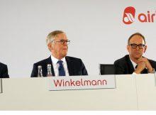 Pressekonferenz der Air Berlin am 25.9. 2017 (© O. Pritzkow)