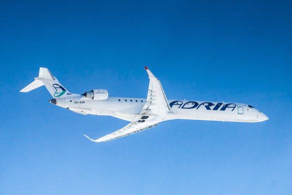Bombardier CRJ900 (© Adria Airways)